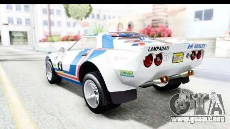 GTA 5 Lampadati Tropos Rallye No Headlights para la vista superior GTA San Andreas