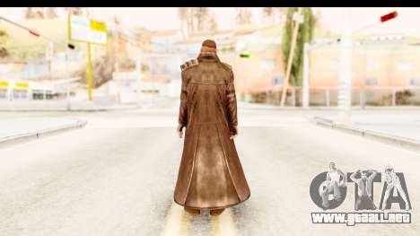 Marvel Heroes - Blade para GTA San Andreas tercera pantalla