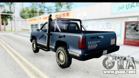 Yosemite Off-Road v2 para GTA San Andreas left