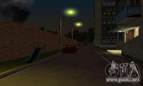 El nuevo distrito cerca de Arzamas para GTA San Andreas octavo de pantalla