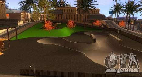Nuevas texturas de un skate Park y hospital para GTA San Andreas sucesivamente de pantalla