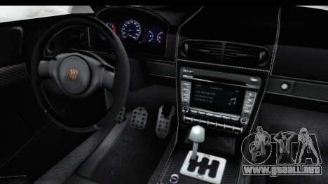 GTA 5 Pfister 811 SA Lights para visión interna GTA San Andreas