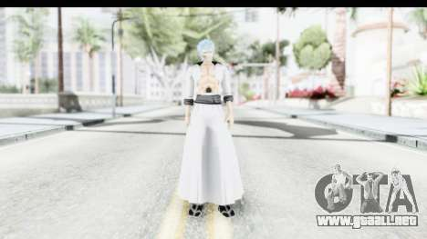 Bleach - Grimmjow para GTA San Andreas segunda pantalla