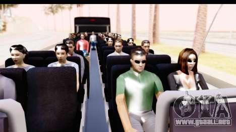Bus Tours Dic Megadic 4x2 ETCE para GTA San Andreas vista hacia atrás