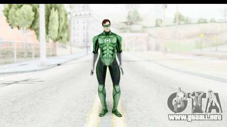 Injustice God Among Us - Green Lantern para GTA San Andreas segunda pantalla