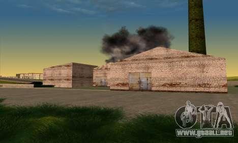 El nuevo distrito cerca de Arzamas para GTA San Andreas tercera pantalla
