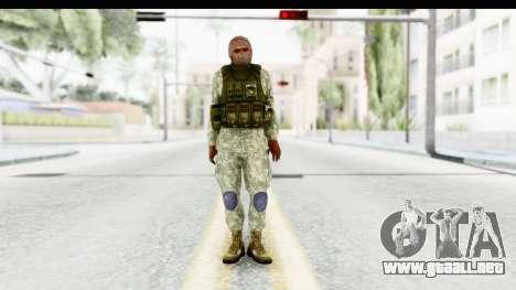 Global Warfare Arab para GTA San Andreas segunda pantalla