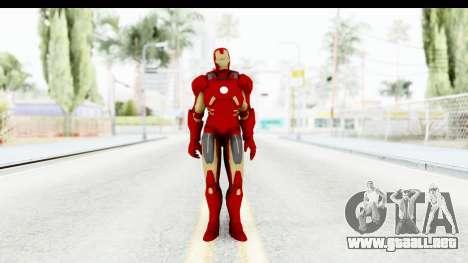 Marvel Heroes - Iron Man Mk7 para GTA San Andreas segunda pantalla