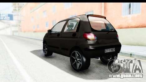 Daewoo Matiz para GTA San Andreas left