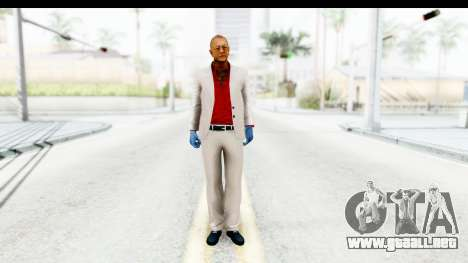 Payday 2 - Jiro para GTA San Andreas segunda pantalla