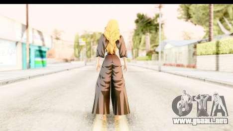 Bleach - Rangiku para GTA San Andreas tercera pantalla