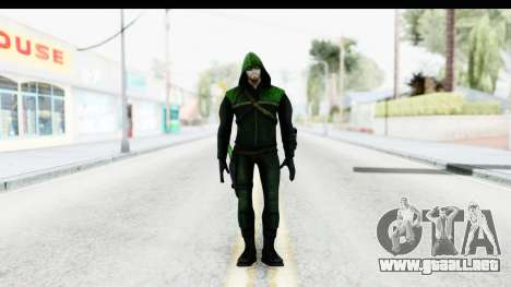 Injustice God Among Us - Green Arrow TV Show para GTA San Andreas segunda pantalla