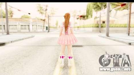 DoA 5 - Ultimate Kasumi Pop Idol Team D para GTA San Andreas tercera pantalla