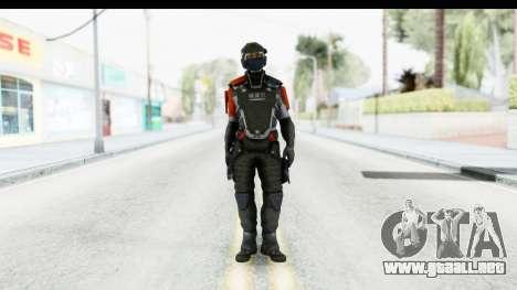 Homefront The Revolution - KPA v4 Captain para GTA San Andreas segunda pantalla