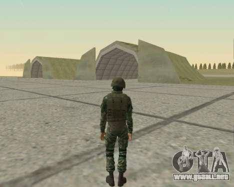 Pak combatientes de aire para GTA San Andreas novena de pantalla