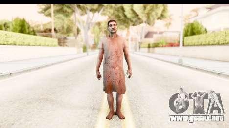 Left 4 Dead 2 - Zombie Patient para GTA San Andreas segunda pantalla