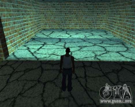 Garaje nuevo Armenia para GTA San Andreas sucesivamente de pantalla