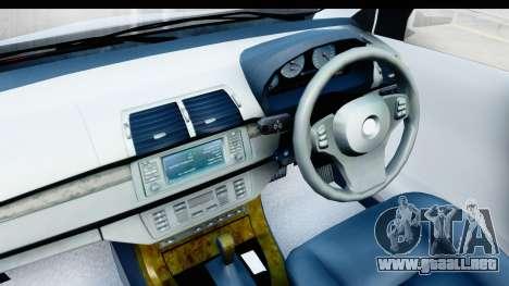 Toyota Avanza Veloz 2012 v1.1 para GTA San Andreas vista hacia atrás