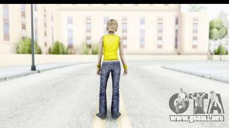 Silent Hill 3 - Heather Sporty Yellow Glasses para GTA San Andreas tercera pantalla
