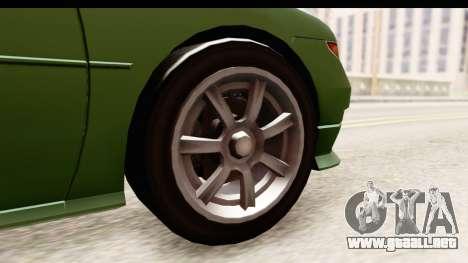 GTA 5 (4) Dinka Perennial para GTA San Andreas vista hacia atrás