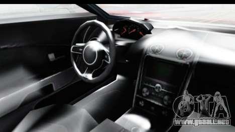 GTA 5 Vapid Bullet Face FMJ para visión interna GTA San Andreas
