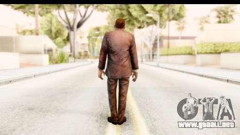 Left 4 Dead 2 - Zombie Suit para GTA San Andreas tercera pantalla