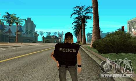 Hembra entrenador de SWAT para GTA San Andreas tercera pantalla