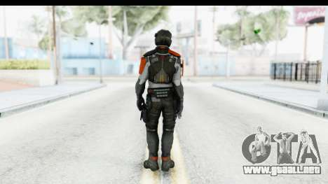 Homefront The Revolution - KPA v5 Captain para GTA San Andreas tercera pantalla