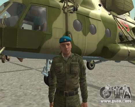 Pak combatientes de aire para GTA San Andreas quinta pantalla