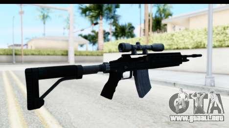 GTA 5 Vom Feuer Marksman Rifle para GTA San Andreas segunda pantalla