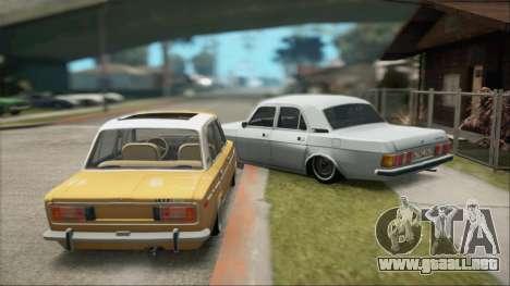 VAZ 2106 Summer para la visión correcta GTA San Andreas