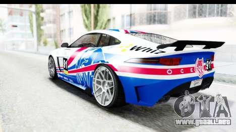 GTA 5 Ocelot Lynx IVF PJ para GTA San Andreas