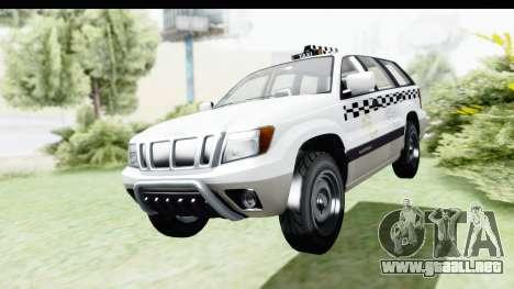 GTA 5 Canis Seminole Taxi Milspec para la visión correcta GTA San Andreas