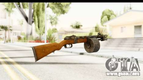 The Terrible Shotgun para GTA San Andreas segunda pantalla