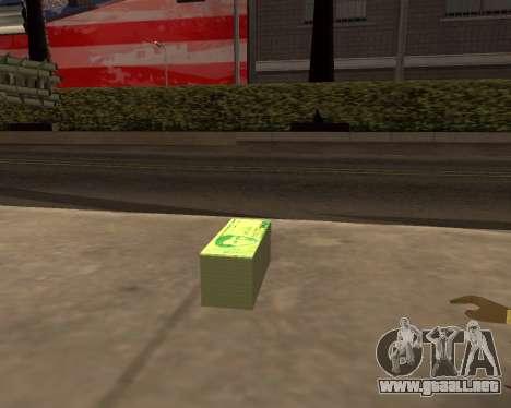1000 Armenian Dram para GTA San Andreas segunda pantalla