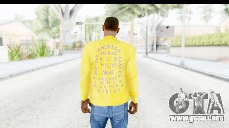 I Feel Like Kobe Sweatshirt para GTA San Andreas tercera pantalla