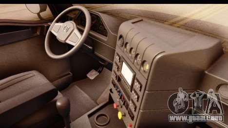 CAT CT 660 v1.0 para GTA San Andreas vista hacia atrás