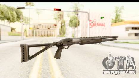 MP-153 para GTA San Andreas segunda pantalla
