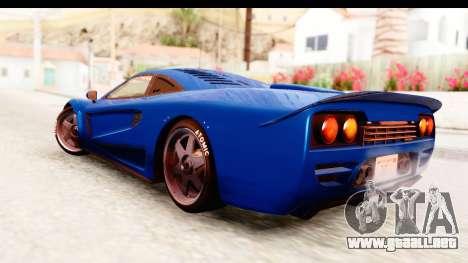 GTA 5 Progen Tyrus IVF para GTA San Andreas left
