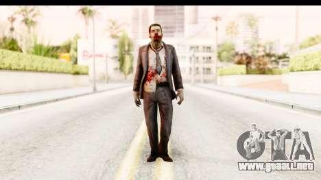 Left 4 Dead 2 - Zombie Suit para GTA San Andreas segunda pantalla