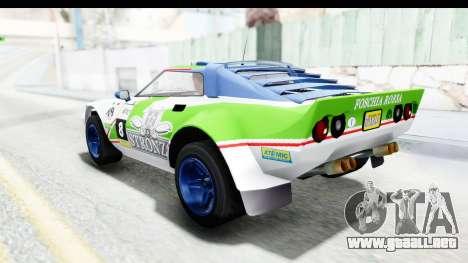 GTA 5 Lampadati Tropos Rallye No Headlights IVF para GTA San Andreas interior