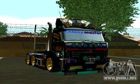 KamAZ 65115 TURBO DIESEL para GTA San Andreas