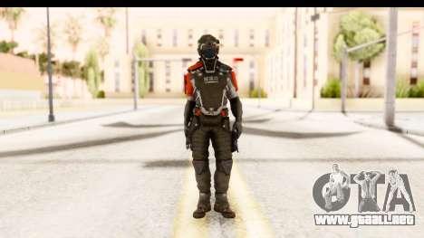Homefront The Revolution - KPA v2 Captain para GTA San Andreas segunda pantalla
