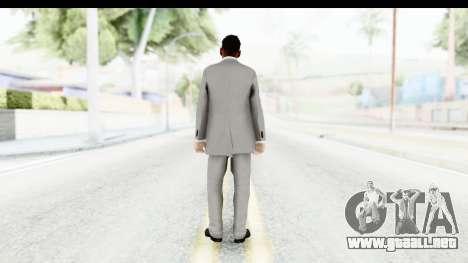 Messi Formal para GTA San Andreas tercera pantalla