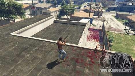 GTA 5 Extreme Blood 0.1 segunda captura de pantalla