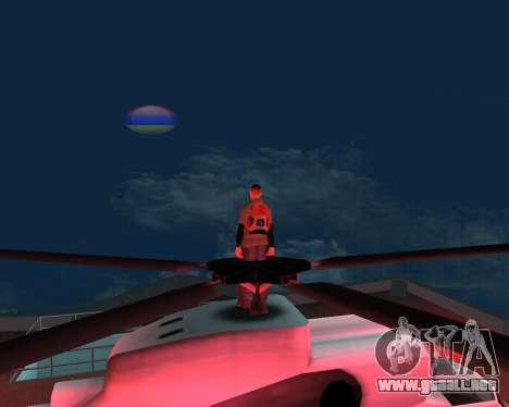 Luna nueva armenia para GTA San Andreas tercera pantalla