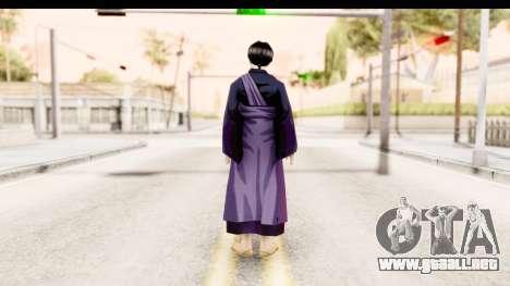 Miroku para GTA San Andreas segunda pantalla