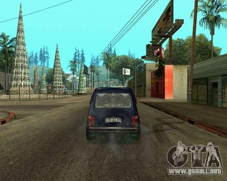 Niva 2121 Armenian para la visión correcta GTA San Andreas
