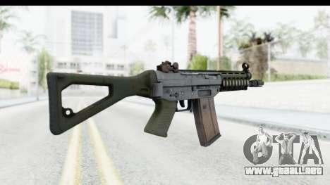 SG553 para GTA San Andreas segunda pantalla