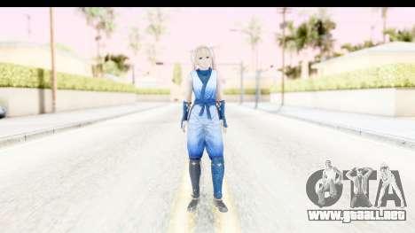 DoA 5: LR - Marie Rose Ninja para GTA San Andreas segunda pantalla